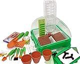 MEDUP Kinder experimentieren im Zimmergewächshaus Mini Gewächshaus für Kinder...