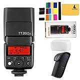 Godox TT350S TTL 2.4G HSS 1 / 8000s GN36 Kamera Flash Speedlite für Sony...