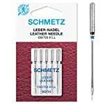 SCHMETZ Nähmaschinennadeln   5 Leder-Nadeln LL   130/705 H LL   Nadeldicke...