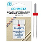 SCHMETZ Nähmaschinennadel Zwillings-Universal-Nadel 3,0/90 | 130/705 H ZWI NE...