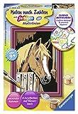 Ravensburger Malen nach Zahlen 29685 - Pferd im Stall - Kinder ab 9 Jahren