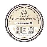 Suntribe Bio-Zinksonnencreme Gesicht & Sport LSF 30-100% Zink - Riff...