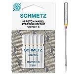 SCHMETZ Nähmaschinennadeln | 5 Stretch-Nadeln | 130/705 H-S | Nadeldicke 75/11...
