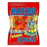 Haribo Bären-Schule, Gummibärchen, Weingummi, Fruchtgummi, Im Beutel, Tüte,...