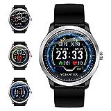 Smartwatch, Fitness Armband Sportuhr Smart Watch Mit Pulsmesser Schlafmonitor...