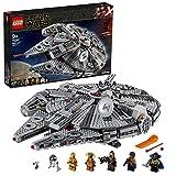 Lego 75257 Star Wars Millennium Falcon Raumschiff Bauset mit Finn, Chewbacca,...