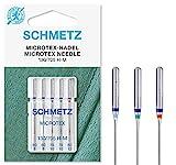 SCHMETZ Nähmaschinennadeln im Set | 5 Microtex-Nadeln | 130/705 H-M |...