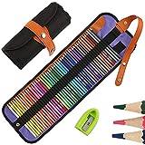 50 Buntstifte Set, HOSPAOP Zeichnen Bleistifte Art Set für professionelle...