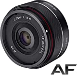 Samyang AF 35mm F2.8 FE (Tiny but Mighty) - Vollformat & APS-C Autofokus...
