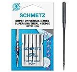 SCHMETZ Nähmaschinennadeln: 5 Super Universal-Nadeln, Nadeldicke 90/14, 130/705...