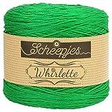 Scheepjes Whirlette Baumwollmischgarn, 100g, Fb. 857 kiwi, Sommerwolle zum...