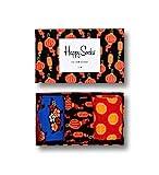 Happy Socks, bunt premium baumwolle Geschenkkarton 3 Paar Socken für Männer...