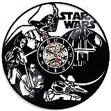 Bestes Weihnachtsgeschenk für Star Wars Fans Vinyl Clock