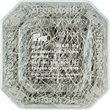 Prym 024120 Stecknadeln, 0,50 x 30mm, silberfarbig, 50g, Kunststoffdose, Stahl,...