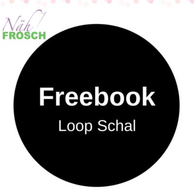Loop Schal nähen Freebook