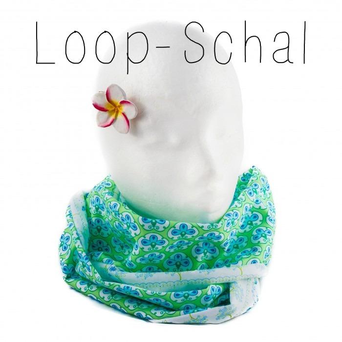 Loop Schal nähen: Einfache Nähanleitung von NÄHFROSCH