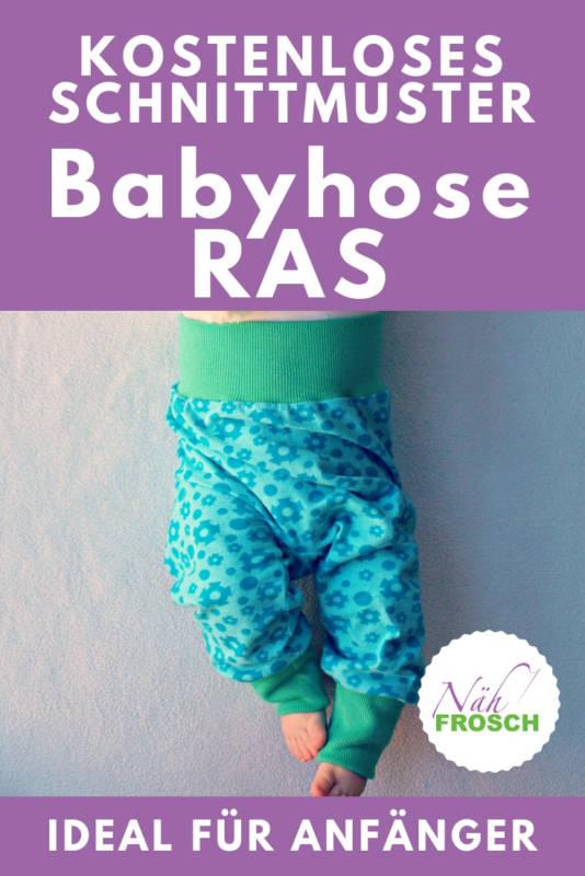 Babyhose naehen RAS
