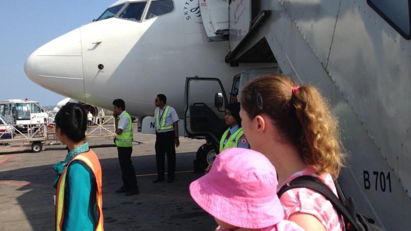 Baby Flugzeug Bali