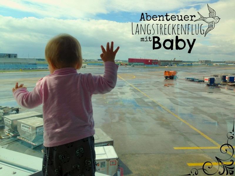 Baby am Flughafen