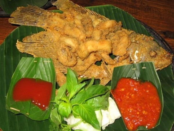 Fisch Indonesien Essen Bali