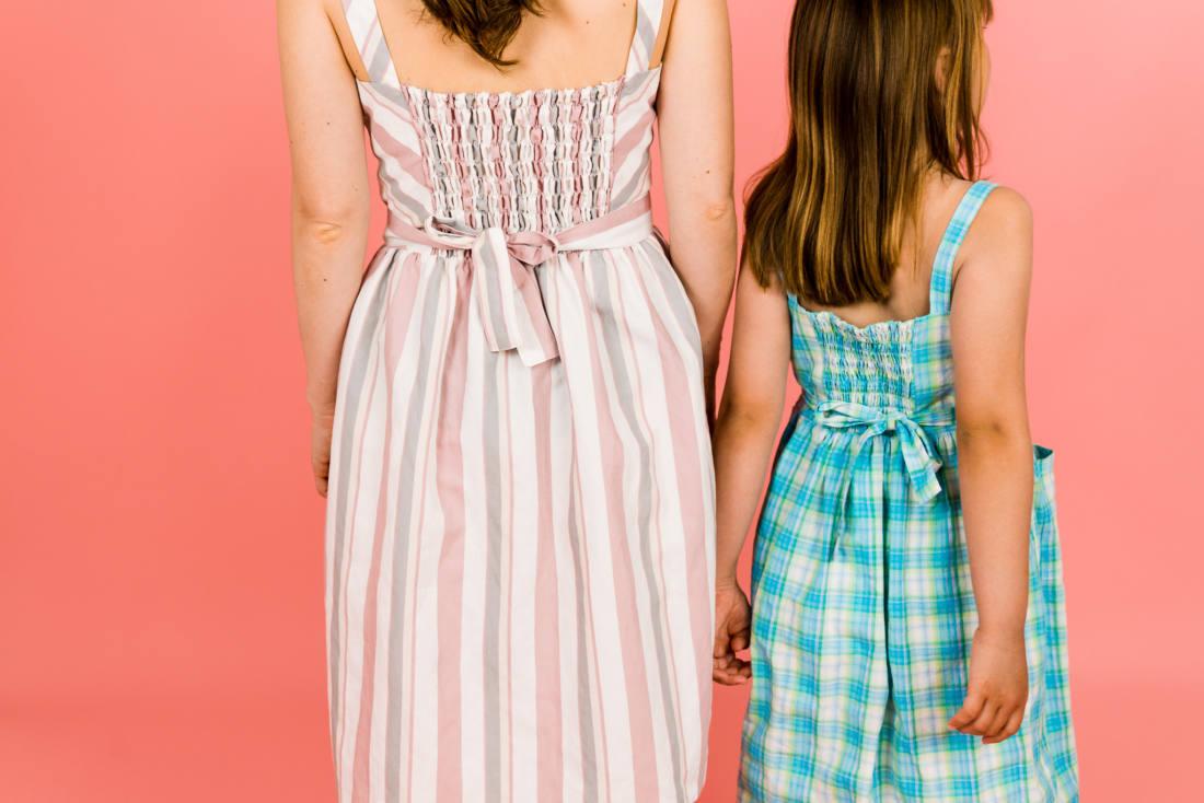 2110618 Damenkleid Kinderkleid naehen Desi Sophia 045