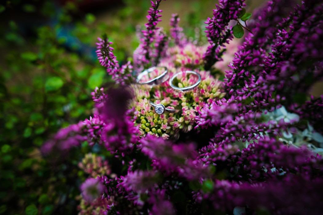 Blumen Ringe