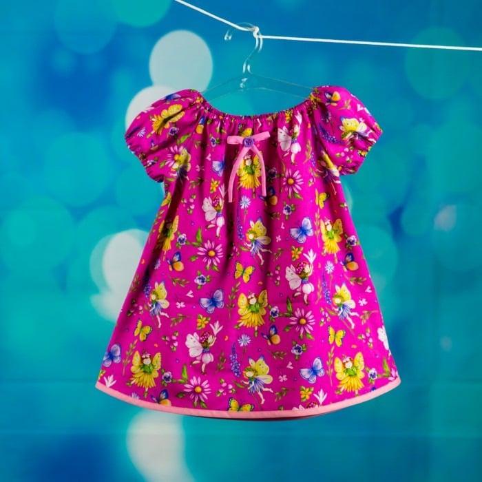 Bunte schnelle Kleidchen