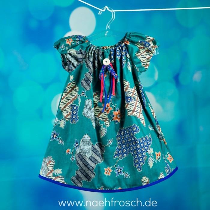Buntes Kleid Mädchen
