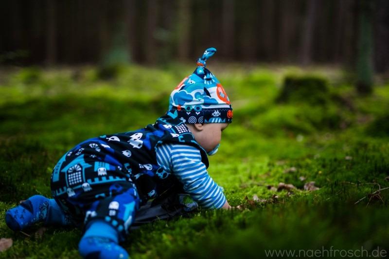 Bokeh Wald Baby
