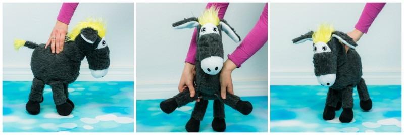Mit Plüsch und Zottel einen Esel nähen - Nähfrosch
