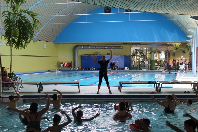 Aqua-Fitness in der Badewelt Sinsheim