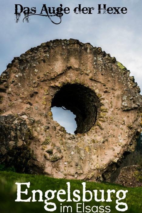 Engelsburg Hexenauge Thann Elsass Vogesen Frankreich Alsace Castle château de l'Engelbourg L'œil de la Sorcière