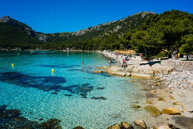 Mallorca mit Kindern Playa Formentor
