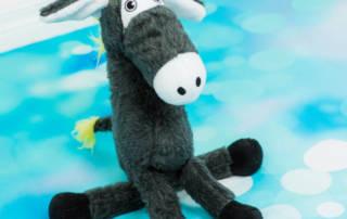 Esel nähen aus Plüsch und Zottel: Was man beachten muss
