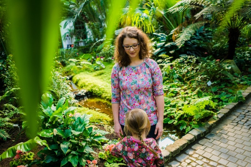 Palmengarten mit Kindern Frankfurt Ausflug Rhein-Main-Gebiet Urlaub mit Kind