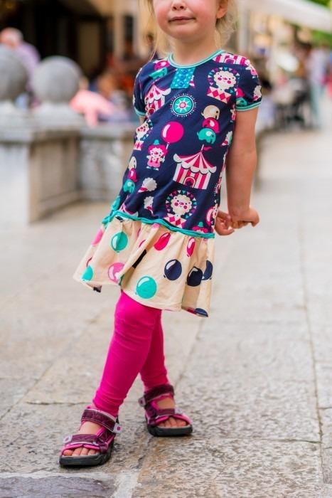 Mädchen Kleid selber nähen
