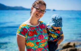 Jersey mit Fischen: Shalmiak kleidet uns auf Mallorca ein
