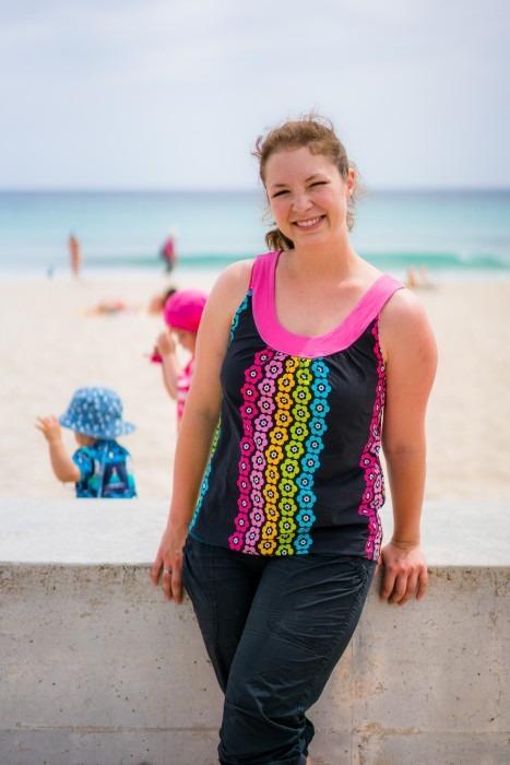 Damen Shirt Strand