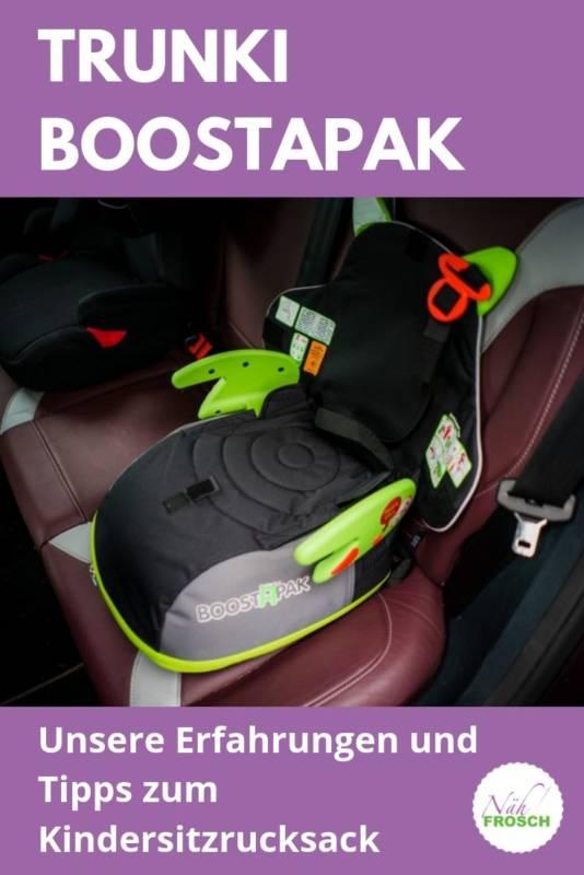 Trunki Boostapak Kindersitz Rucksack