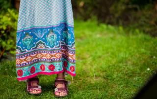 Maxikleid für Mädchen nähen: So näht ihr ein Sommerkleid aus Webware