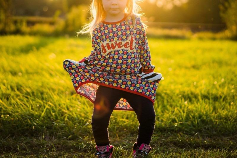 Sonnenuntergang Kind