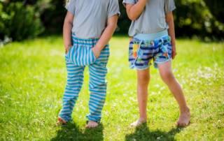 Shorts für Kinder nähen: Schnittmuster Coachella Shorts für Webware
