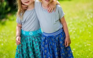 Tellerrock nähen für Kinder - mit dem Freebook von Farbenmix
