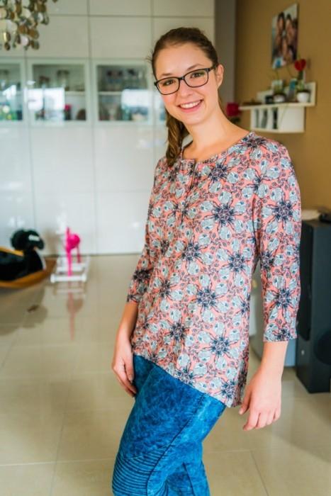 Einfache Bluse aus Viskose Webware nähen