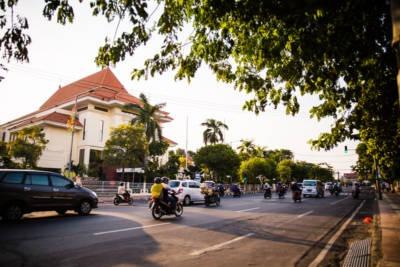 Indonesien Strasse