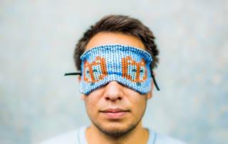 Schlafmaske nähen: Tutorial für eine einfache Schlafmaske