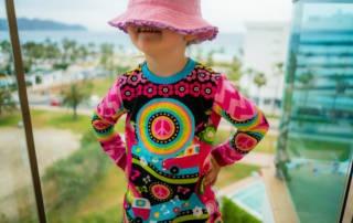 Hippie Shirt für Kinder aus dem Jersey von Shalmiak