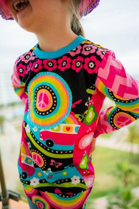 Naehfrosch Hippie Shirt 5