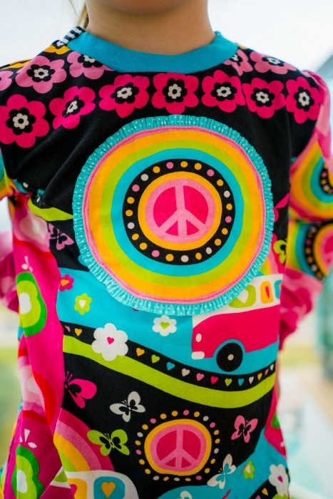 Naehfrosch Hippie Shirt 6