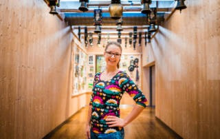 Shalmiak Jersey im schönen Zillertal: Basic Shirt von Klimperklein für mich